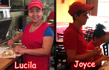 joyce and lucy at cocina mexicanna
